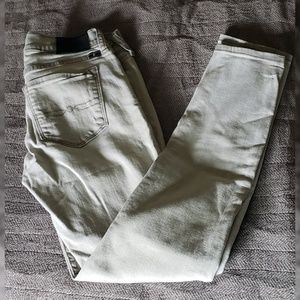 Lucky Brand light grey jeans fairly used